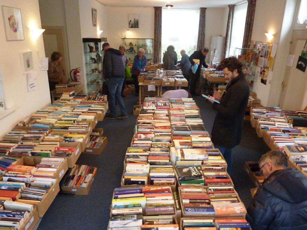 Boekenmarkt inloophuis