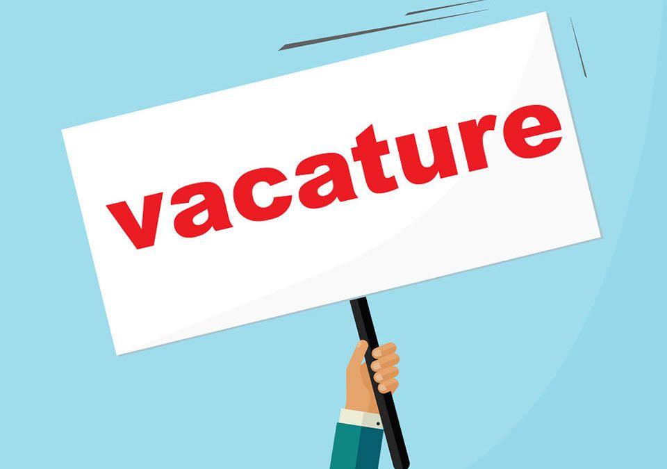 Vacature ICT-versterking